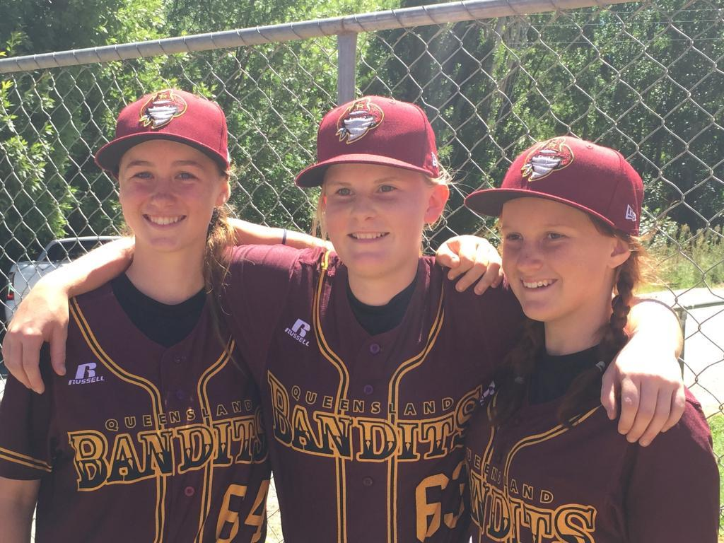 U15 Youth Women's QLD Baseball Team Placing 3rd